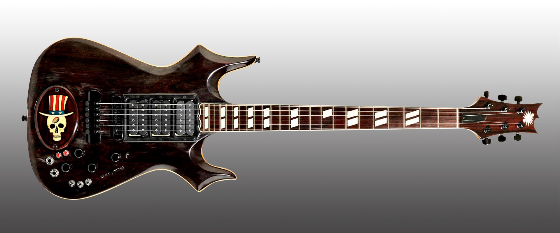 Jerry Garcia Cripe Top Hat Guitar